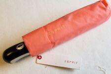 ESPRIT Automatik Regenschirm Taschenschirm orange Easymatic coral Damenschirm