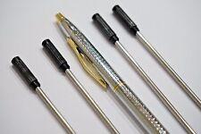 4x CROSS Type 8513 Ballpoint Pen Refills BLACK + JINHAO Medalist Chrome Pen UK!