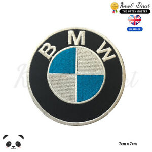 BMW Motor Car Brand Logo Embroidered Iron On Sew On PatchBadge For Clothes etc