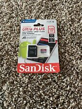 SanDisk Ultra Plus 128GB Micro SDXC UHS-I Card With Adapter New