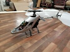 Kyosho Concept 60 RC Helicopter and Remote plus replacement parts