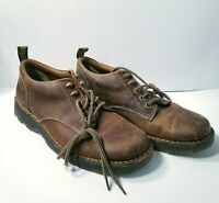 DR Martens Mens Size US 12 EUR 46 Shoes Brown Leather Casual Lace Up AW004