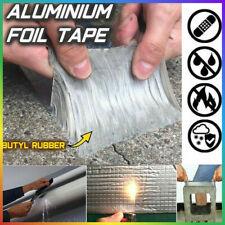 Wasserdichtes Band Butyl Aluminiumfolie Tape für Dachrohr Riss Reparatur DHL DE