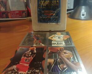 1994-95 Embossed Basketball 121 Card Set Jordan Grant Hill Jason Kidd RC +