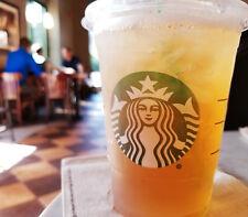 🌈RARE! STARBUCKS 🍑 Teavana® Shaken Peach Citrus White Tea Infusion 1.94OZ Bag!