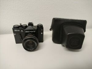Zenit 12SD + carenar 1:2.8 f=35mm analoge Kamera mit M42 - Anschluss
