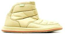 New Sanuks Womens Puff N Chill Mid Tan Puffer Booties Slippers US 7 EU 38