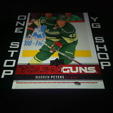 2012 13 UD YOUNG GUNS 230 WARREN PETERS RC MINT/NRMNT +FREE COMBINED S&H