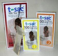 T-Sac Loose Tea Filter Bags - Size 4 - Large Teapots