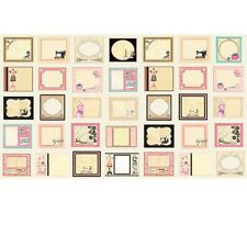 """23"""" Fabric Panel - Quilting Treasures Cute as a Button Sewing Notion Tags Beige"""