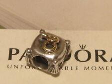 AUTHENTIC PANDORA DIAMOND ROMANTIC UNION ENGAGEMENT RING CHARM - 790549D