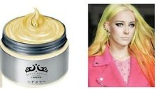 Gel Coiffant Wax Cheveux hair Couleur colorful JAUNE YELLOW Gold Or Golden Doré