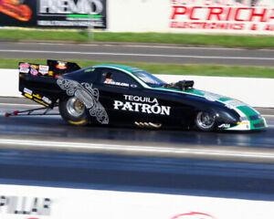 ALEXIS DEJORIA TEQUILA PATRON TOP ALCOHOL FUNNY CAR 8X10 GLOSSY PHOTO #1S