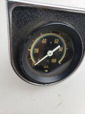 Vintage Auto Oil Gauge, Japan