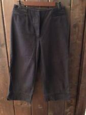 Ralph Lauren Vintage Black Capris Size 6