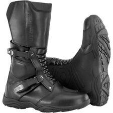 Firstgear Kathmandu Waterproof Motorcycle Boots Black Men's 9 (42)