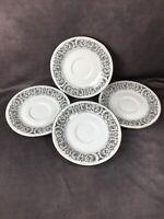 CELEBRITY Fine China MATADOR 6070 - 4 Bread Plates - Beautiful Condition