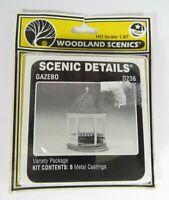 OO Gauge Woodland Scenics D236 Gazebo - Metal Kit