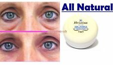 Puffy Dark Circles Wrinkles Fine Lines Under Eye Cream All Natural 1.7 oz.