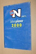 Nintendo 64 GAME BOY COLOR BIG N planner anno 2000
