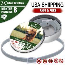 Dewel Cheaper than Seresto!Flea and Tick Collar for Small Medium Large Dog 8MONT