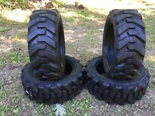 4-27X8.50-15 HD Skid Steer Tires-27-8.50-15- Camso Xtra wall - for Bobcat & more