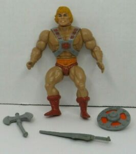 He-Man 1981 MASTERS OF THE UNIVERSE MOTU 100% Complete Vintage #2 Taiwan