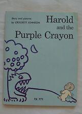 HAROLD AND THE PURPLE CRAYON CROCKETT JOHNSON 1973 TX 771(26)