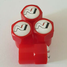 HYUNDAI N logo Plastic Wheel Valve Dust caps all models RED 7 Colours i30 I30N
