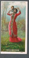 Original 1900's Ayer & Co. Lowell Blood Disorders Remedy Advertising Trade Card