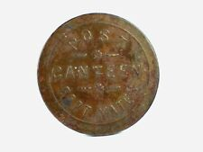 Vintage FORT YATES CANTEEN TOKEN - Good For 10 Cents - North Dakota