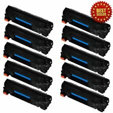 10 Pack For HP CE285A 85A LaserJet Pro P1102 P1102w M1132 M1212nf M1217nfw Toner