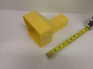 PANDUIT FRRF4FD2 YL 4x4 FiberRunner to 2x2 Reducer w/Cover