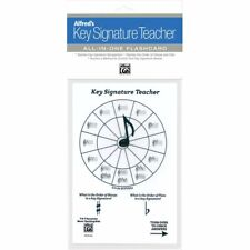 Alfred's Key Signature Teacher: All-In-One Flashcard (White Version)