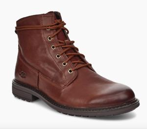 UGG Mens Morrison Lace-Up Boots. Cardovan (Brown) UK8 (EU42), BNIB, RRP£170