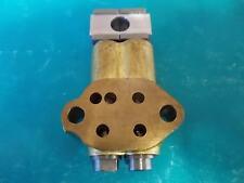 TRIUMPH 5T 6T T100 T110 T120 TR6 PRE UNIT 2 VALVE OIL PUMP - UK MADE 70-3072