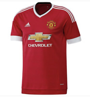 ADIDAS KIDS MANCHESTER UNITED 2015/16 HOME JERSEY