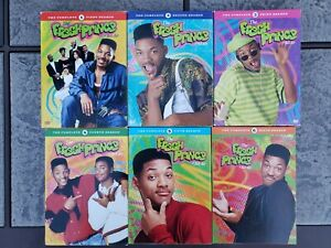 THE FRESH PRINCE OF BEL-AIR COMPLETE SERIES 1 2 3 4 5 6 DVD SET w/ SLIPCOVERS
