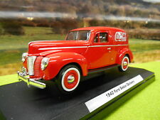 Officiel COCA COLA Diecast 1940 Ford Sedan Coke Delivery Van 1/24 Boxed & NEW