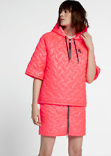WOMENS NIKELAB JACKET COAT SIZE LARGE PINK 916368-677 NIKE QUILTED TOP