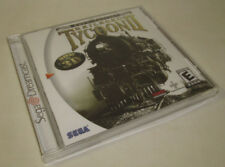 Railroad Tycoon 2 II: Gold Edition Sega Dreamcast, 2000 NEW Factory Sealed READ*