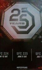 UFC 25 Years  #224  #225  #226