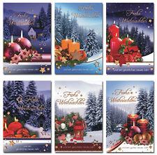 50 Weihnachtskarten Weihnachtskarte Grußkarten Weihnachten Umschläge 221-6650