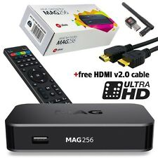 MAG 256 IPTV Set-Top-Box BRAND NEW MAG256+WI-FI Antenna+ Free HDMI