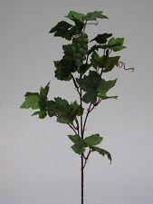 Traubenzweig grün 70cm Zweige Weintraubenzweig Kunstblumen Dekoration