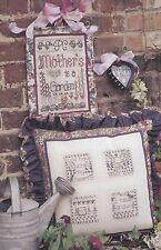 Shepherds Bush - A Mother's Garden Sampler Cross Stitch Pattern