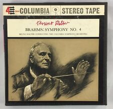 Reel To Reel Bruno Walter Brahms Symphony No 4 Columbia Symph Orchestra