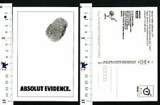 ABSOLUT VODKA COLLECTION N° 91 - ABSOLUT EVIDENCE - 57794