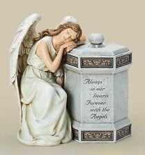 "11.75"" Angel Memorial Box Always Forever In Our Hearts Josephs Studio # 68147"