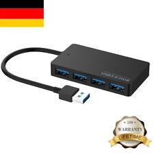 4 Ports USB 3.0 HUB Verteiler Splitter Adapter für PC Notebooks Laptop Kabel